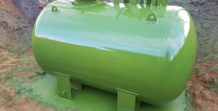 Regeneracja zbiorników LPG